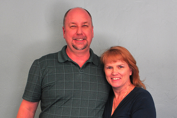 Tim and Donna Smith: The owners of Grail Construction.