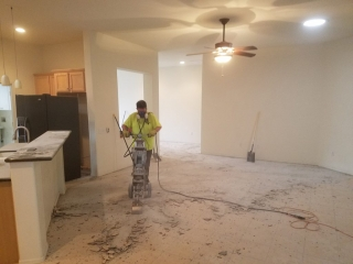 During the Remodel
