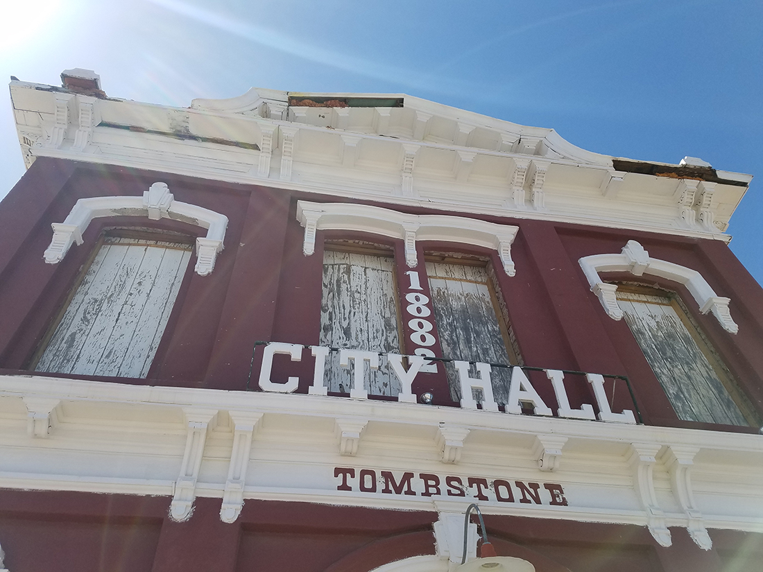 Tombstone City Hall Renovation