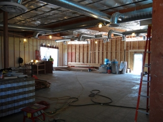 Dance Studio Construction