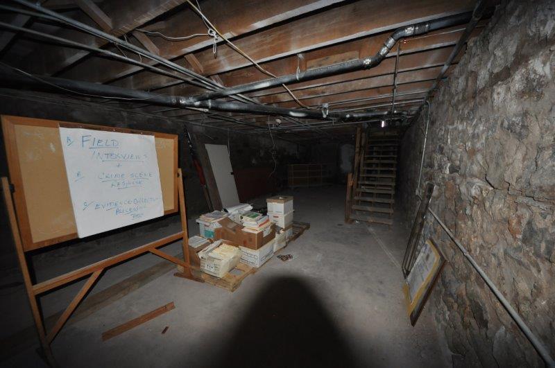 Marshal Office evidence room